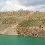Dashteh Lar Dam - bottom of Damavand