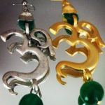 OM earrings - Rana Naders