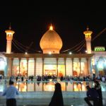 Shah Cheragh - a funerary monument and mosque in Shiraz